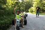 Vzrušujúca jazda na trojkolke po trati s dĺžkou takmer 3 km!