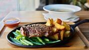 Gurmánska špecialita v Pulitzeri: Juhoamerický hovädzí entrecôte steak 200g. Aj…