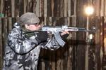 Strieľanie na strelnici v Lozorne
