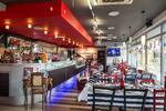 Cestoviny alebo rizoto s panna cottou v pravej talianskej reštaurácii