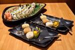 Lososové a maslovkové sushi s predjedlom a Mochi guľkami - 24 kúskov pravého…