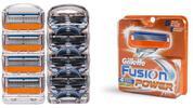 Gillette MACH 3 alebo Gillette Fusion Power náhradné holiace hlavice