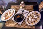 Waffle na 2 spôsoby s epressom