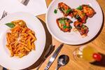Originálna trojchodová romantická talianska večera