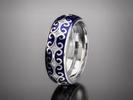 Krásne strieborné prstene