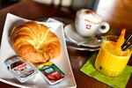 Raňajkové menu alebo káva a koláčik