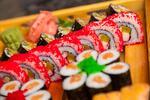 XXL Sushi set alebo sushi set v Avione
