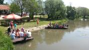 Splav po malom Dunaji pre deti i dospelých