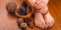 Mokrá pedikúra s masážou a možnosťou gél laku