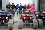 Vzrušujúca jazda na štvorkolkách pre deti
