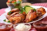 BBQ grilované krídelká alebo rebierka