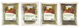 Bylinky od Pohody: balíčky 4 druhov korenia