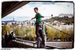 Kyvadlový zoskok z mosta Lafranconi!