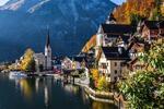 Romantická jeseň v Salzburgu a Hallstatte