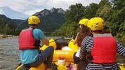 Rafting s inštruktorom na Dunajci