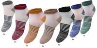 12 párov pánskych alebo dámských bavlnených ponožiek