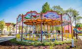 Vstup do presláveného zábavného parku Legendia