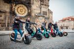 Výlet Prahou na elektrickej kolobežke Scrooser