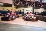 2 svižné jazdy v motokáre na dvojposchodovej dráhe