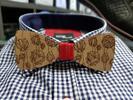 Ručne vyrábaný drevený motýlik
