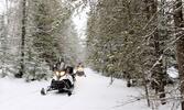 Adrenalínová jazda na snežných skútroch!