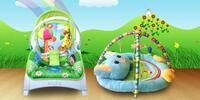 Detské hracie deky alebo hojdacie kresielko 3v1