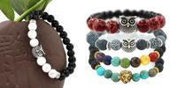 Náramky plné energie: prírodné kamene, významné symboly a darčekové vrecko