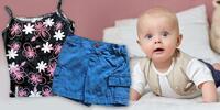 Detské letné oblečenie: Chlapčenské kraťasy a bermudy, dievčenské tielka…