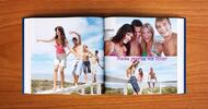Exkluzívna značková fotokniha XL alebo A4 v tvrdých doskách