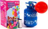 Hélium vo fľaši s balónikmi na nafúknutie
