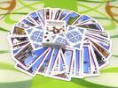 Žolíkové hracie karty so slovenskými pamiatkami (modré)