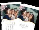 Mesačný kalendár z vlastných fotografií vo formáte A4 / šablóna 17
