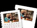 Mesačný kalendár z vlastných fotografií vo formáte A5 / šablóna 9