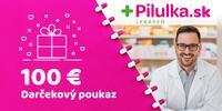 10 - 100 € darčekový poukaz do e-shopu Pilulka.sk