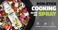 201 g Sprej na varenie Olive Oil Cooking Spray od GymBeam (olivový olej)