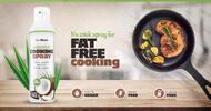 201 g Sprej na varenie Coconut Cooking Spray od GymBeam (kokosový olej)