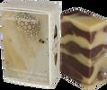 """85 g Prírodné peelingové kakaovo-škoricové mydlo ,,Sladké pokušenie"""""""
