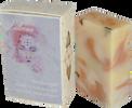 """85 g Prírodné peelingové mydlo s lupienkami ruže a bielym ílom """"Ľúbava"""""""