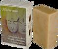 """85 g Prírodné mydlo s kozím mliekom, včelím medom, peľom a propolisom ,,Mliečna cesta"""""""