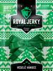 9 x 22 g Balíček prémiového sušeného mäsa Royal Jerky (MIX 7 príchutí / zelený)