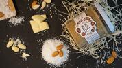 300 g Arašidový krém (biela čokoláda / kokos)