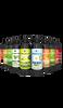 Set 8 fermentovaných nápojov kombucha: mix chutí