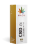 10 ml 5 % Gold CBD olej s MCT kokosovým olejom