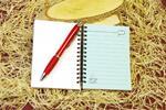 Zápisník s ľudovým motívom LUD0114