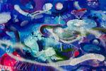Tlačené aj maľované obrazy slovenskej maliarky Kristíny Honzírkovej