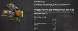 20 x 45 g Raw Me Fruit & Nut Bar Mix (5 príchutí)