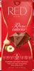 20 x 100 g Mliečna čokoláda so zníženým obsahom kalórií RED Delight (lieskovce/makadamové orechy)