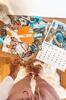Nástenný mesačný kalendár s vlastnými fotografiami (20 x 30 cm)