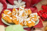 2 × 150 g Vianočné zdobené medovníky