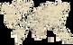 Drevene expedičné mapy sveta